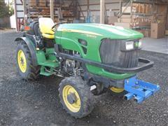 John Deere 5083EN MFWD Orchard Tractor