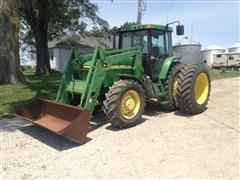 1998 John Deere 7410 MFWD Tractor