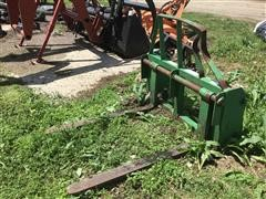 Balemaster QQA W/Carriage Pallet Fork Attachment