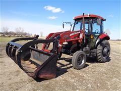 2003 Case IH JX55 2WD Tractor W/132 Loader
