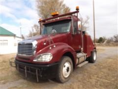 2007 Freightliner C12 Truck W/Trailer House Toter