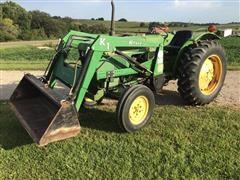 John Deere 1050S 2WD Compact Utility Tractor W/Koyker Loader
