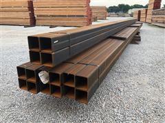 Weathering Steel Square Tubing