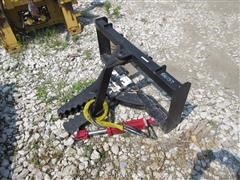 2017 Tree & Post Puller Skid Steer Attachment