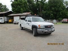 2006 GMC 2500 HD Extended Cab Service Truck