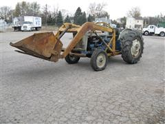 1957 Ford 801 Powermaster 2WD Tractor W/Loader