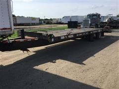 2004 Towmaster T-40 T/A Flatbed Equipment Trailer