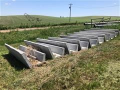 2018 Oberist Concrete Feed Bunks