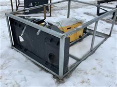2019 Suihe SH750 Skid Steer Hydraulic Concrete Breaker