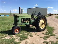 1947 John Deere A Row Crop 2WD Tractor