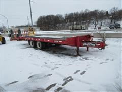2007 Redi Haul R24215TB T/A Flatbed Equipment Trailer