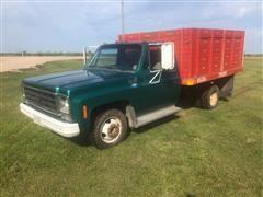 1979 Chevrolet C30 1 Ton Pickup W/Grain Dump Box