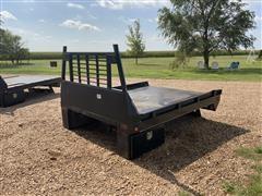 2018 J&I 8.5' Flatbed Box