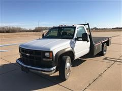 1997 Chevrolet 3500HD 2WD Flatbed Pickup