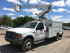 1999 Ford F550XL Bucket Truck