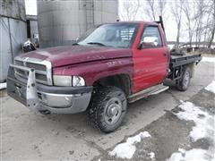 1995 Dodge Ram 2500 Laramie SLT 4x4 Flatbed Pickup