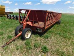 H&S 24 Single Hay Feeder Wagon