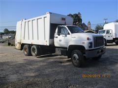 1994 GMC TopKick T/A Garbage Truck