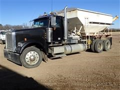 1997 Freightliner Classic Tender Truck W/Doyle 16 Ton Box
