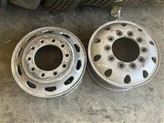 Used Size 22.5 Aluminum 10-Hole Rims