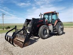 2000 Case IH MX180 MFWD Tractor W/Loader