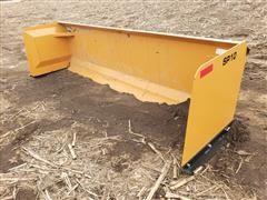 2019 Industrias America SP10 10' Wide Snow Pusher Skid Steer Attachment