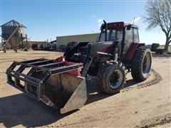 1995 Case IH 5240 Maxxum MFWD Tractor W/Loader
