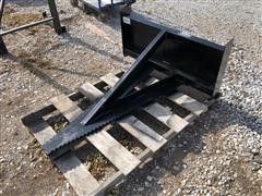 Brute Skid Steer Saw Attachment