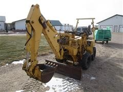 Vermeer V-430A 4x4 Trencher w/Backhoe