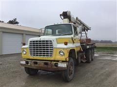 1973 Ford LT8000 T/A Boom Truck W/National 6T56 Crane