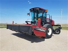 2008 MacDon M200 Dual Direction Self Propelled Rotary Disc Windrower