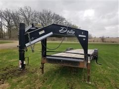 2013 Delta T/A Flatbed Trailer