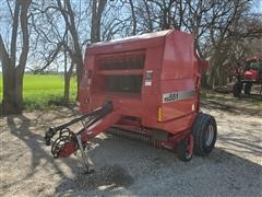 2000 Case International RS551 Round Baler