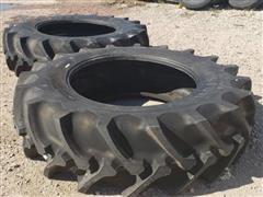 2018 Firestone Radial Champion Spade Grip 520/85R42 Tires