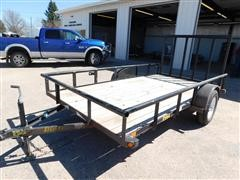 2013 Big Tex 255A S/A Flatbed Trailer
