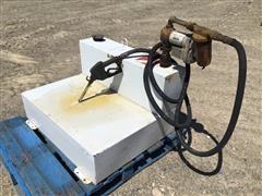 Delta 481000 Portable Fuel Tank W/Pump, Hose & Nozzle