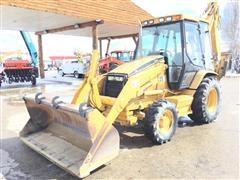 2000 Caterpillar 426C 4x4 Loader Backhoe Extend-A-Hoe