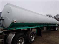 1976 Custom T/A 4 Compartment Tanker Trailer
