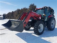 2016 Case IH Maxxum 150 MFWD Tractor W/L755 Loader