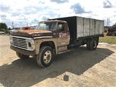 1968 Ford F600 S/A Grain Truck (INOPERABLE)