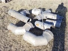 "Miscellaneous 10"" Irrigation Fittings/Couplers"