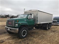 1992 GMC TopKick T/A Grain Truck