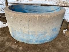 Johnson Round Concrete Water Tank