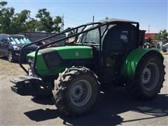2014 Deutz Fahr Agrofarm 420TB MFWD Orchard Tractor