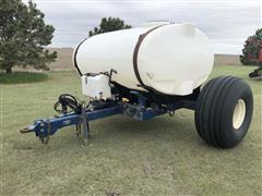 JD Skiles 750 Gallon Fertilizer Tank