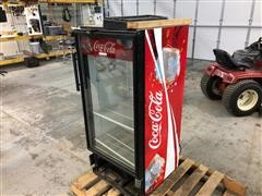 Coca Cola Glass Front Drink Cooler