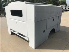 2015 Omaha Standard-Palfinger 96V High Roof Utility Truck Body