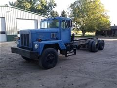 1986 International F-5070-SF T/A Cab & Chassis