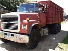 1987 Ford L9000 T/A Grain Truck