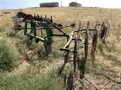 3-Pt 10 Wheel Hay Rake